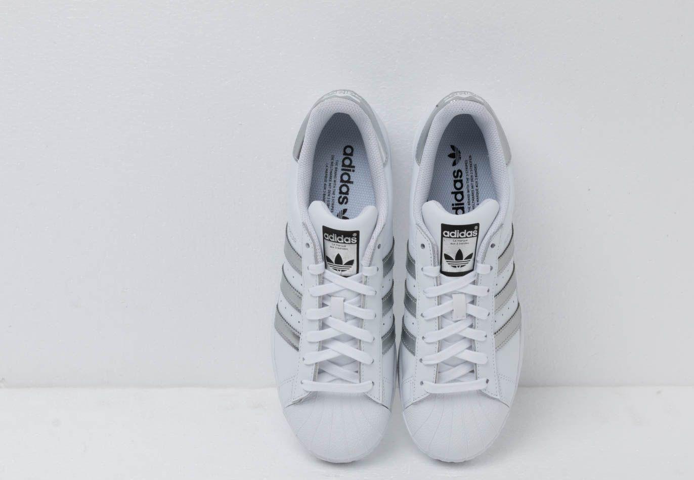 Adidas Superstar Ftw White/ Silvmt/ Core Black adidas Originals de Caucho