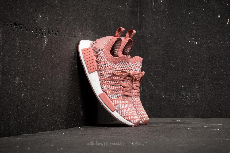 c6bd9d40b Lyst - adidas Originals Adidas Nmd r1 Stlt Primeknit W Ash Pink ...