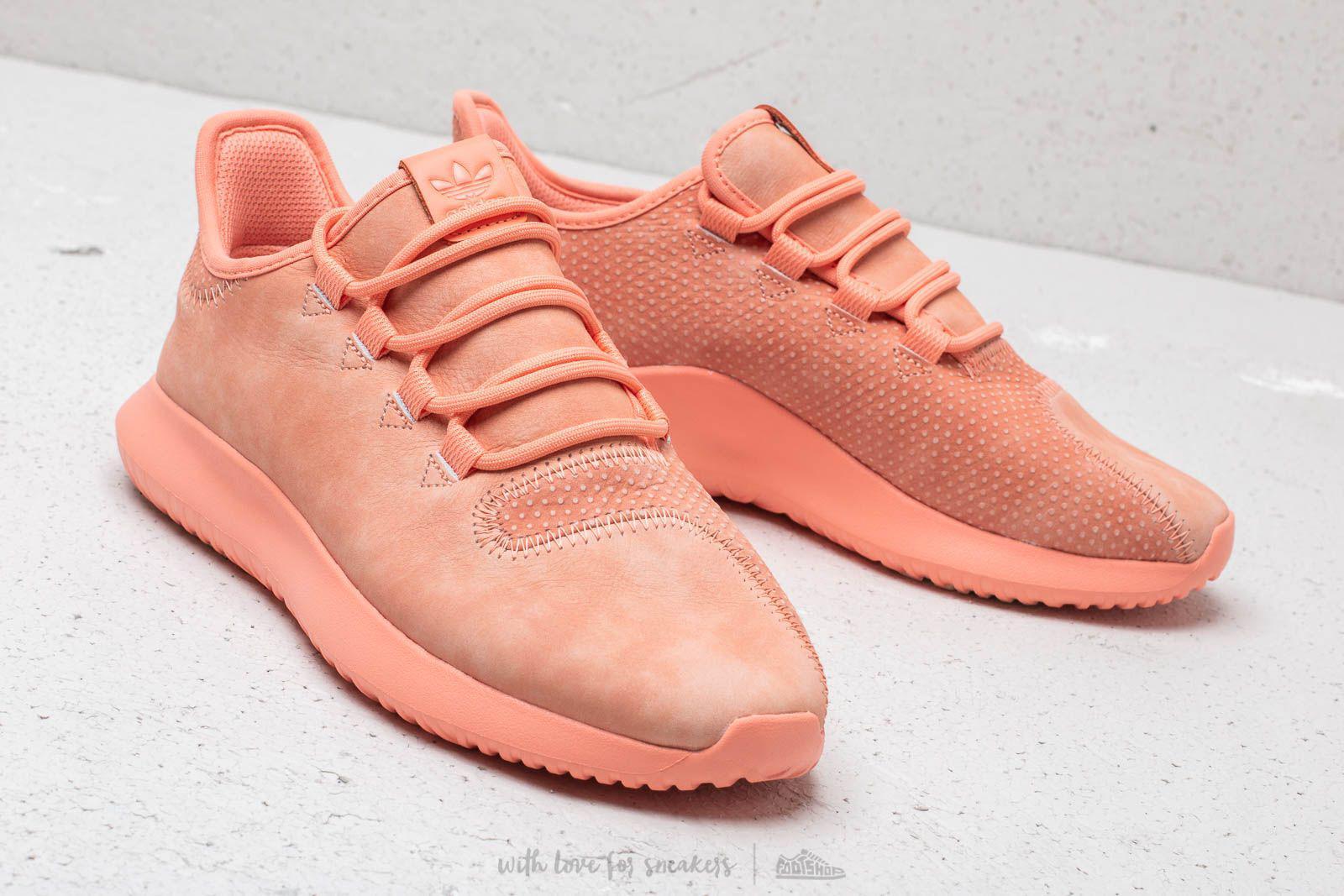 adidas tubular peach
