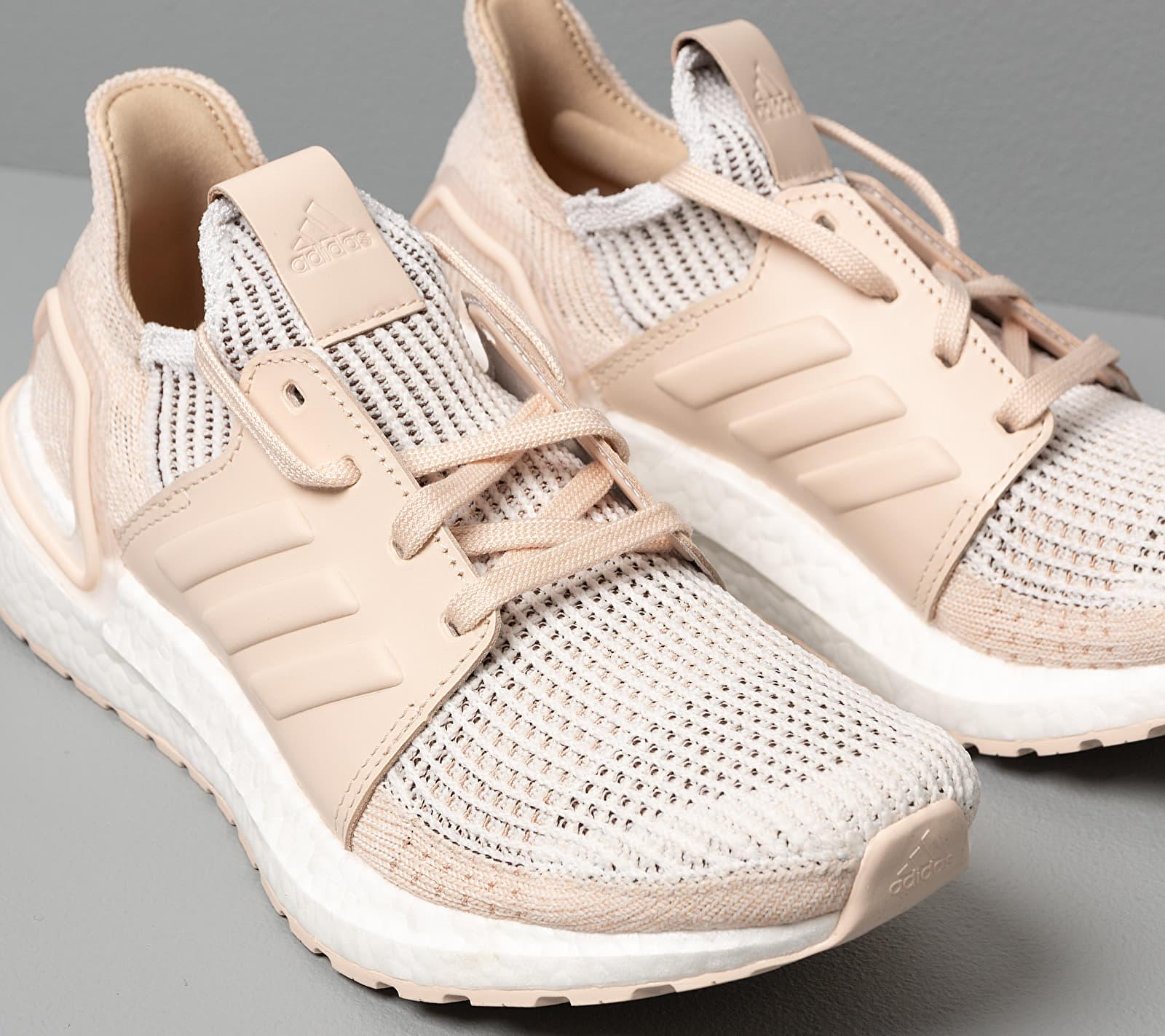 Adidas Ultraboost 19 W Crystal White/ Brown/ Linen