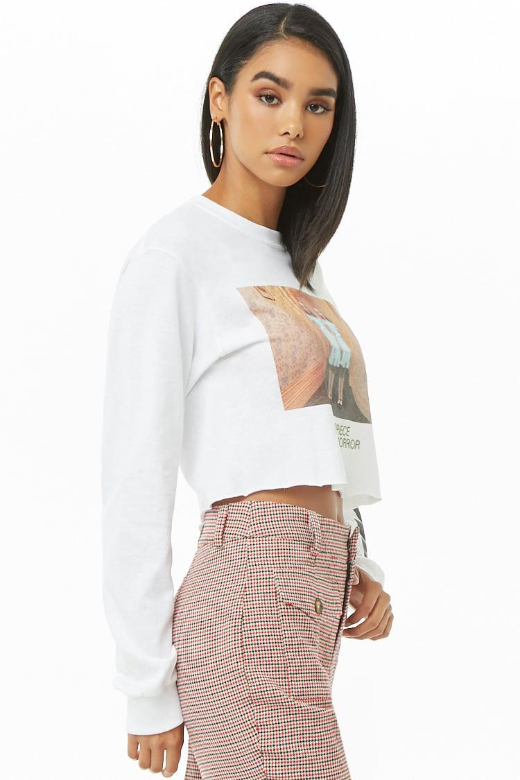 9971da0b0 Forever 21 The Shining Graphic Tee in White - Lyst
