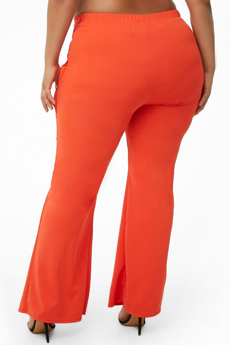 44c4f587a1123 ... Plus Size Embellished Flare Trousers - Lyst. View fullscreen