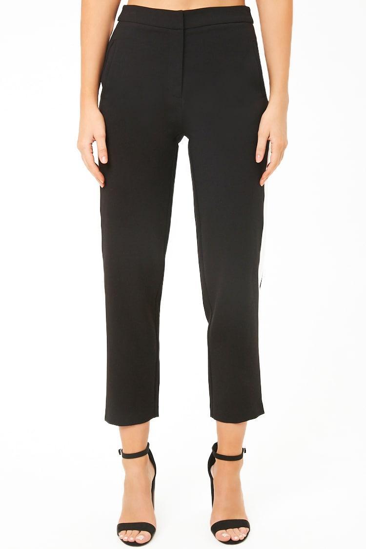 9675ea1425f ... Contrast Stripe Ankle Pants - Lyst. View fullscreen