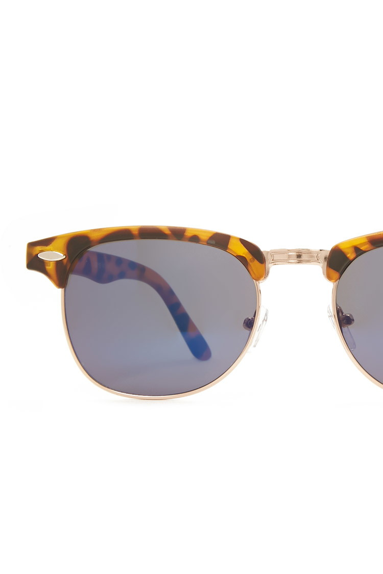 Forever 21 Men Half-frame Sunglasses Youve Been Added To ...