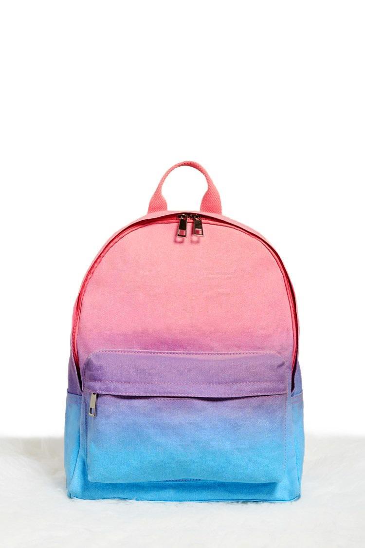 Forever 21 Gradient Tie Dye Mini Backpack In Pink Lyst