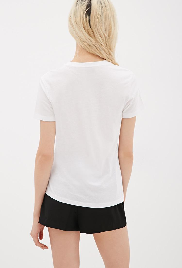 Forever 21 Sade Graphic Tee in White   Lyst