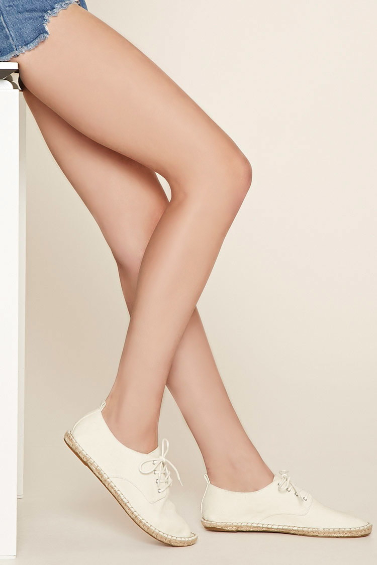 Forever 21 Canvas Espadrille Sneakers