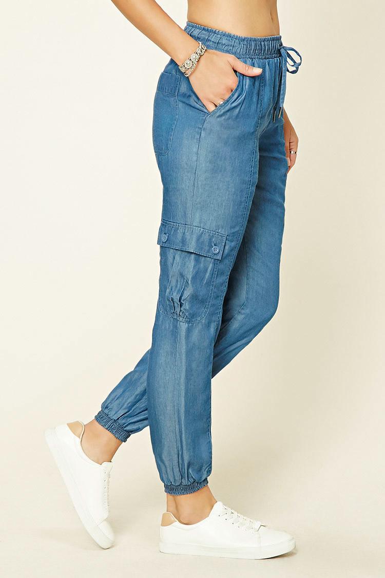Unique Zippered Cargo Pants
