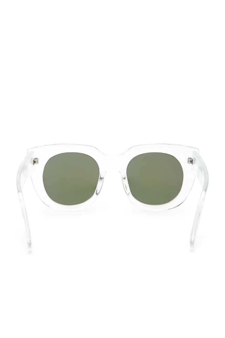 48cc2317144 Lyst - Forever 21 Cat Eye Sunglasses