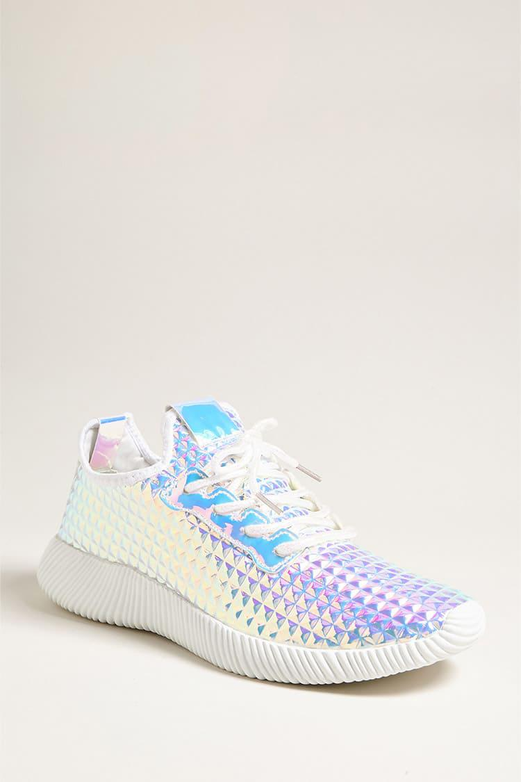 Forever 21 Iridescent Low-top Tennis