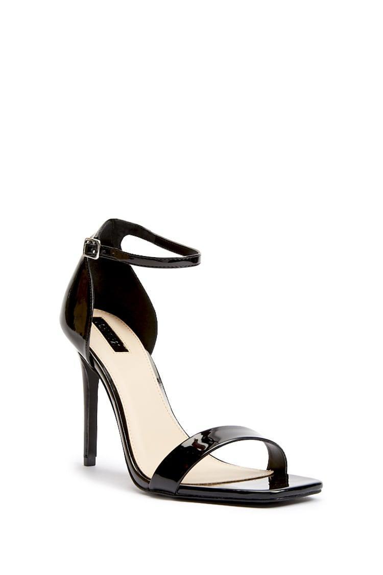 472f6fd6500 Forever 21 - Black Square-toe Stiletto Heels - Lyst. View fullscreen