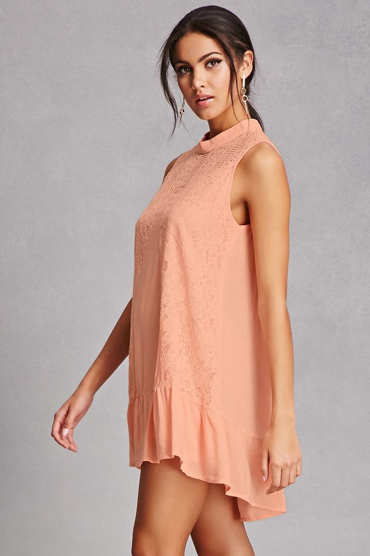 Tassels N Lace Crochet Dress