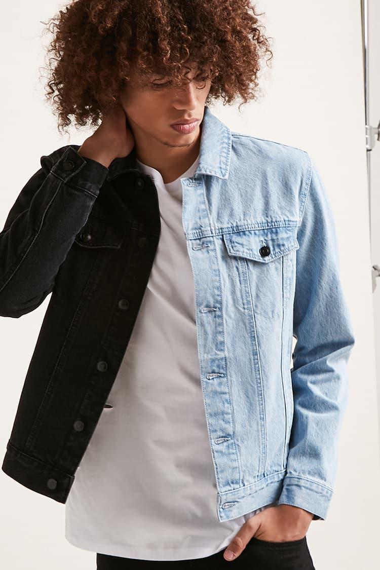 Adult Womens Size Medium Royal Blue Dyed Upcycled Cherokee Denim Trench Blazer Jacket 40 Chest Blue Medium Denim JACKET
