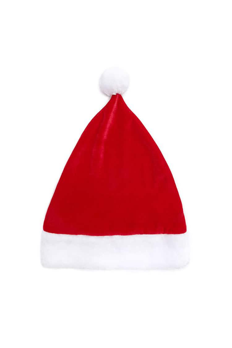 Lyst - Forever 21 Cat Ear Santa Hat in Red 8f1d17c11470