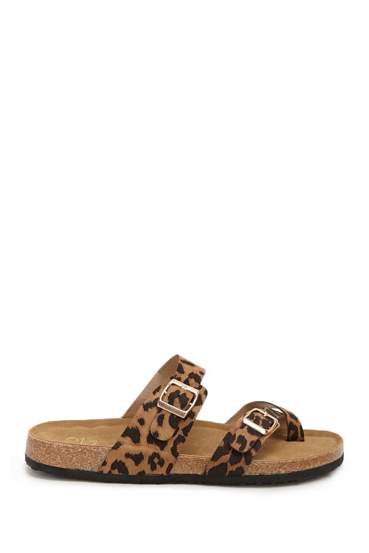 Forever 21 Yoki Faux Suede Leopard