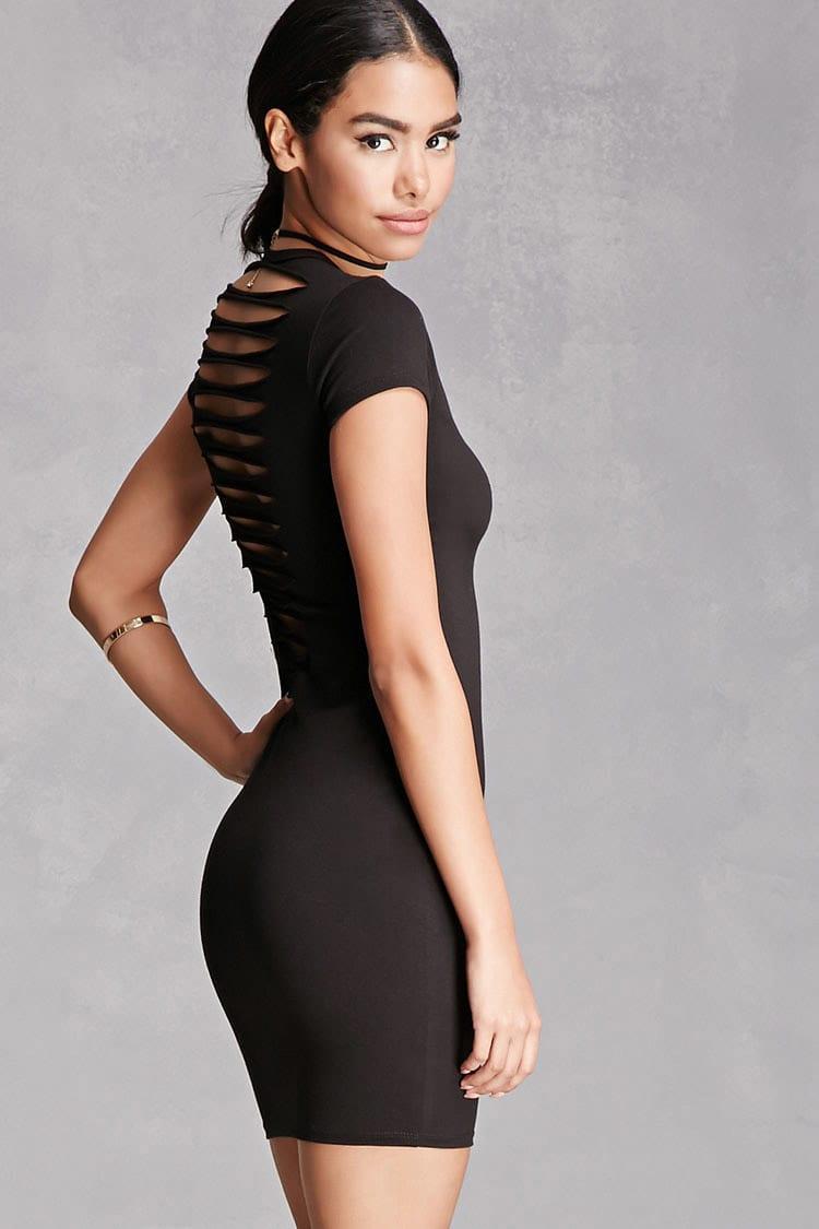 Black bodycon dress forever 21 united states near