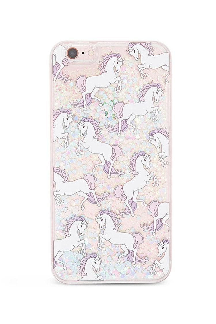 half off 65f88 7f783 Forever 21 Multicolor Unicorn Case For Iphone 6 Plus
