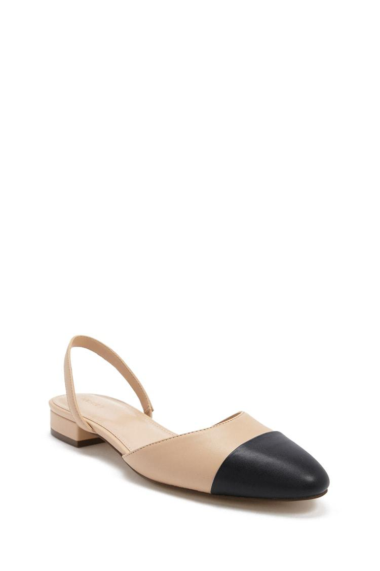 Forever 21 Faux Leather Cap Toe