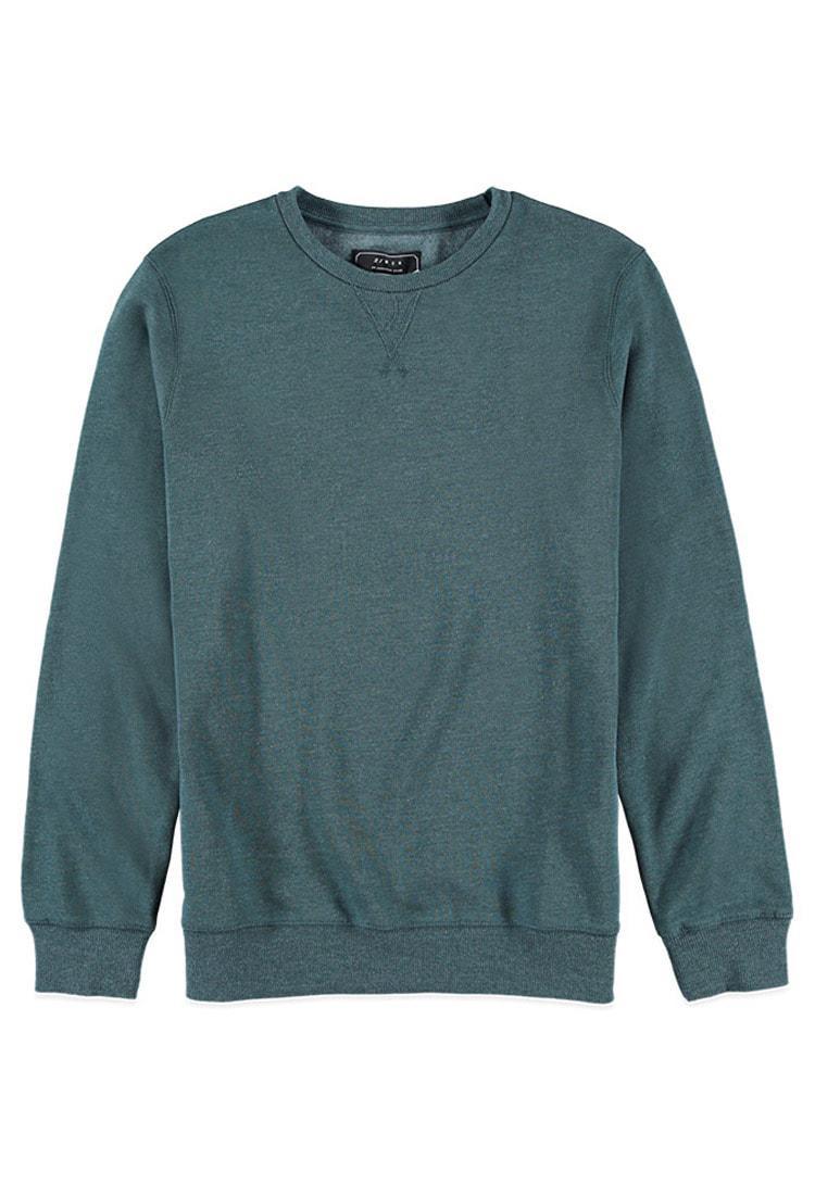 e7dca8b67 Lyst - Forever 21 Classic Crewneck Sweatshirt in Green for Men