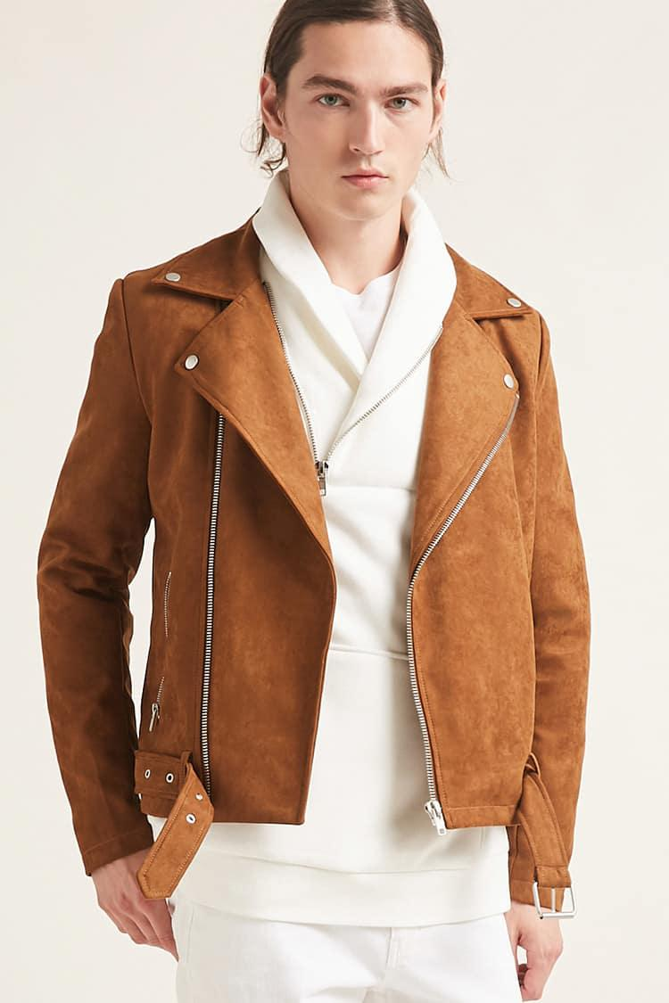 In The Street Suede Jacket