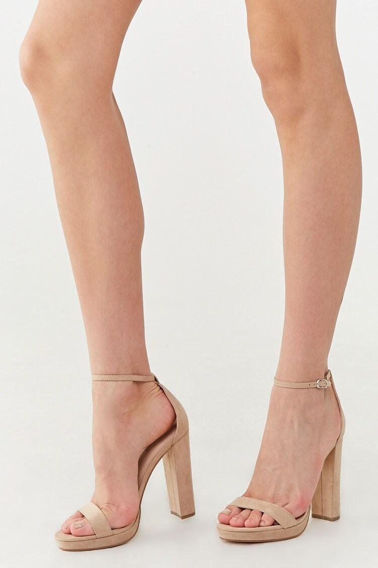 Kylie Ankle Strap Heels | Strap heels, Ankle strap heels