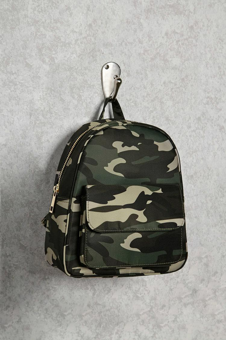 Mini Backpack Camouflage