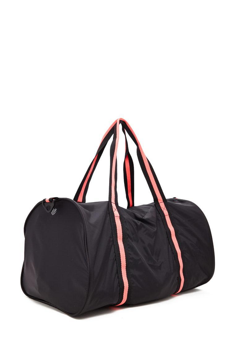 ... Black Active Neon-trim Duffle Bag - Lyst. View fullscreen
