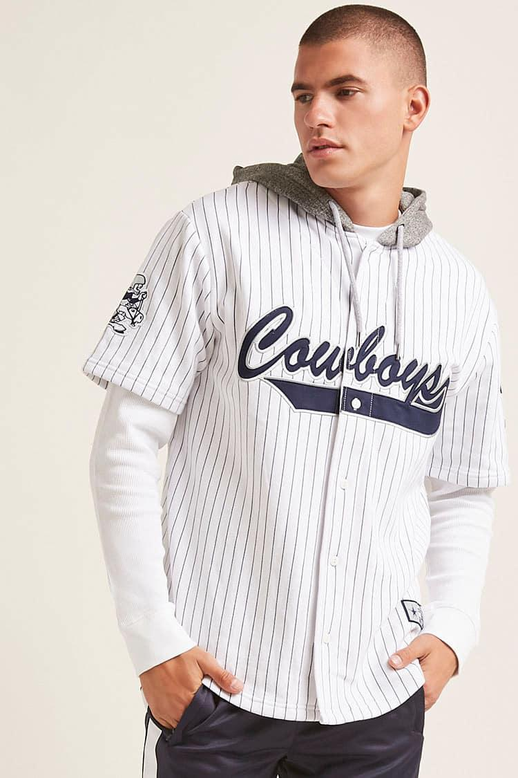 e67d3cc73 Lyst - Forever 21 Nfl Cowboys Combo Jersey in White for Men