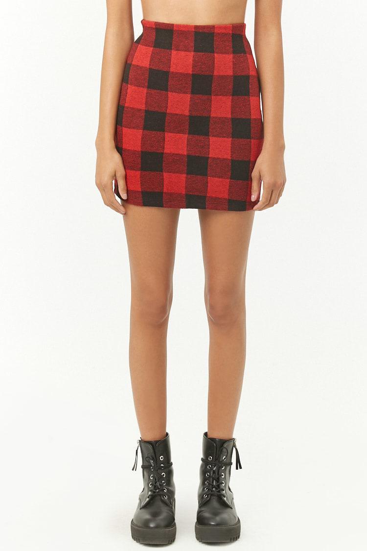 Red Plaid Mini Skirt Vintage Check Mini-Skirt Women/'s Black Plaid Skirt Red Checkered Skirt Vintage Black Plaid Mini-Skirt Red Check Skirt