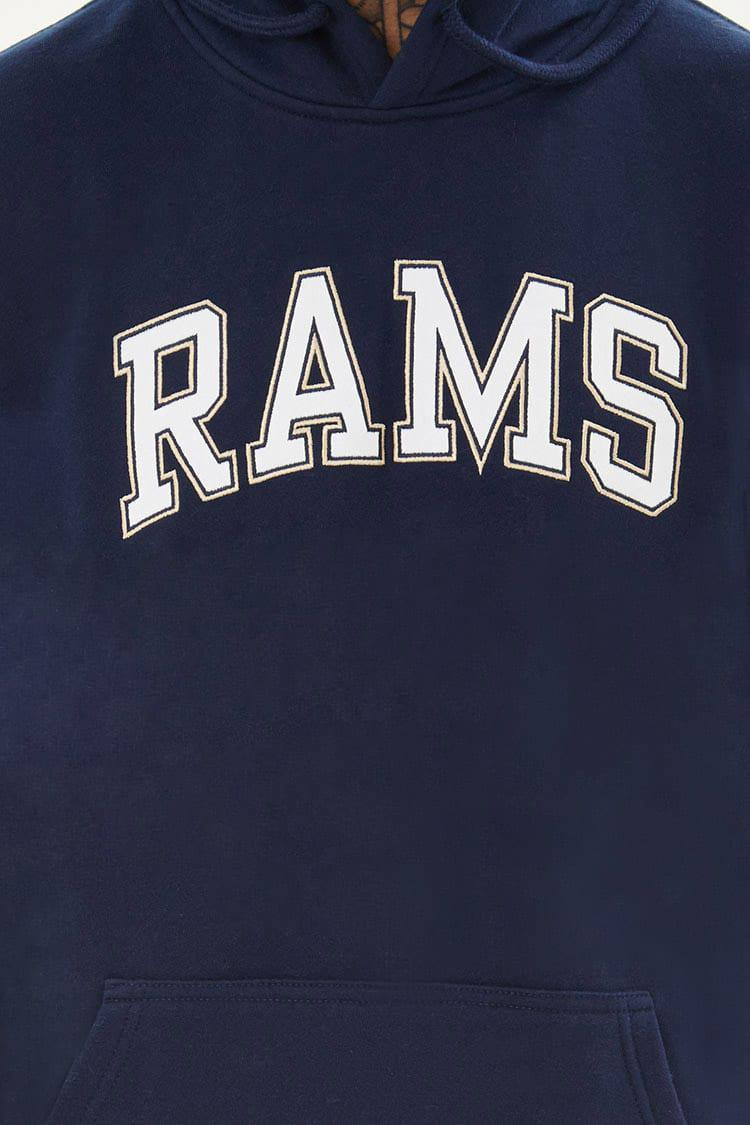 finest selection fa9c4 9abba Forever 21 Blue Nfl Rams Fleece Hoodie for men