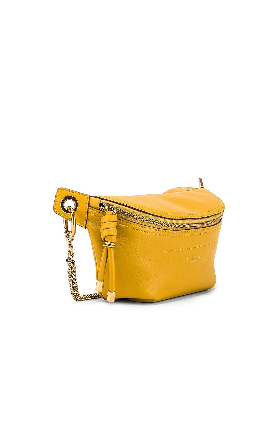18565c393c Givenchy - Yellow Whip Chain Belt Bag - Lyst. View fullscreen