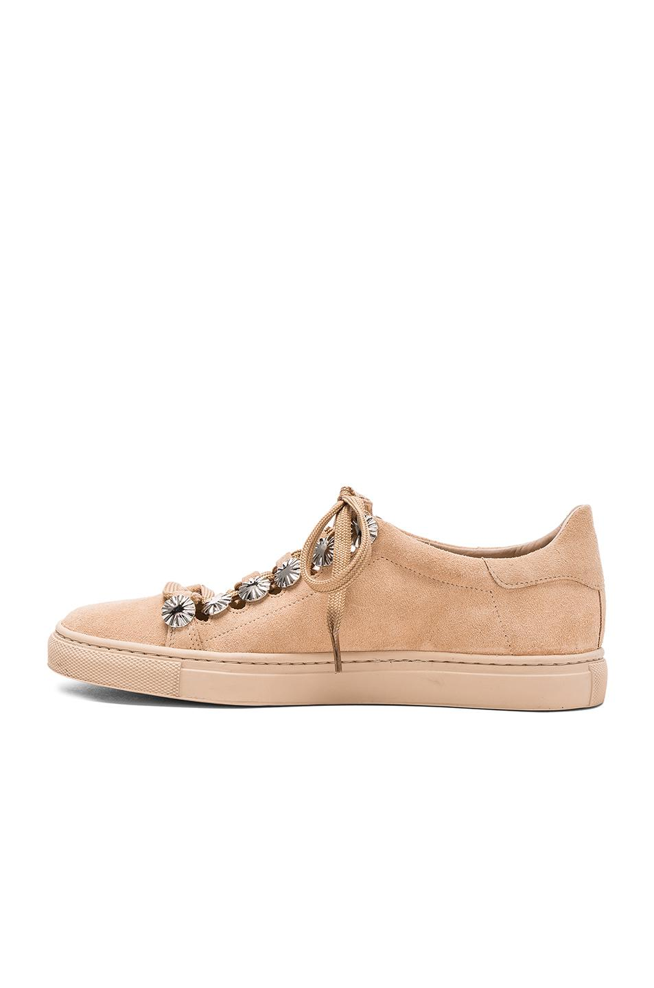 Toga Studded Suede Sneakers