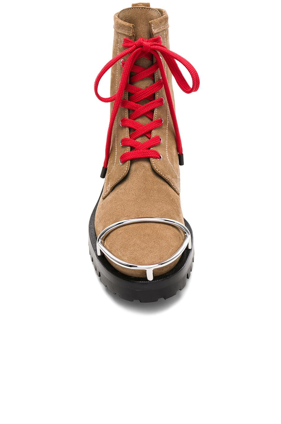 Alexander Wang Lyndon Suede Boot in Clay (Brown)