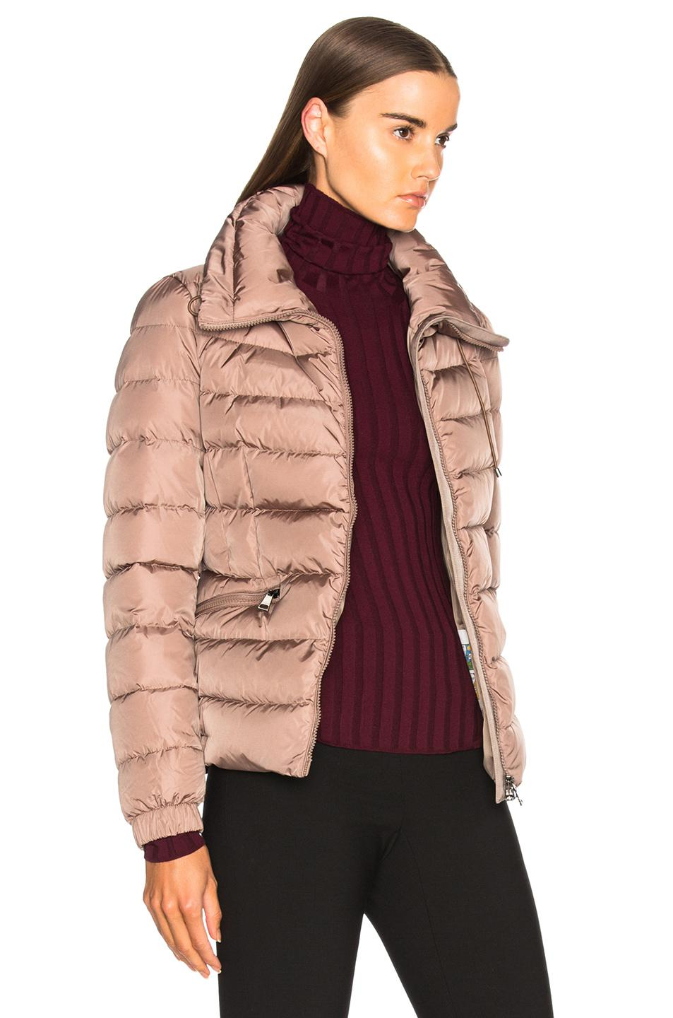 Lyst Moncler Irex Jacket In Pink