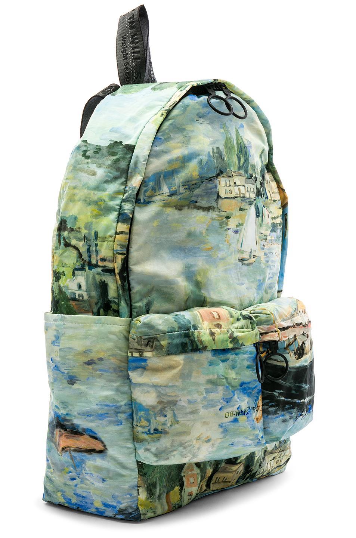 Off-White c o Virgil Abloh - Green Lake Backpack for Men - Lyst. View  fullscreen 921732bd57134