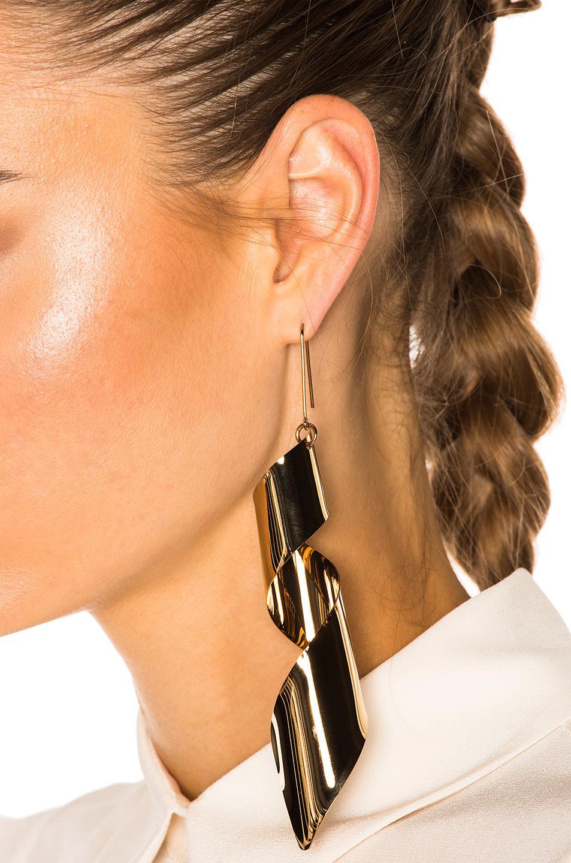 Stella McCartney Brass Earring