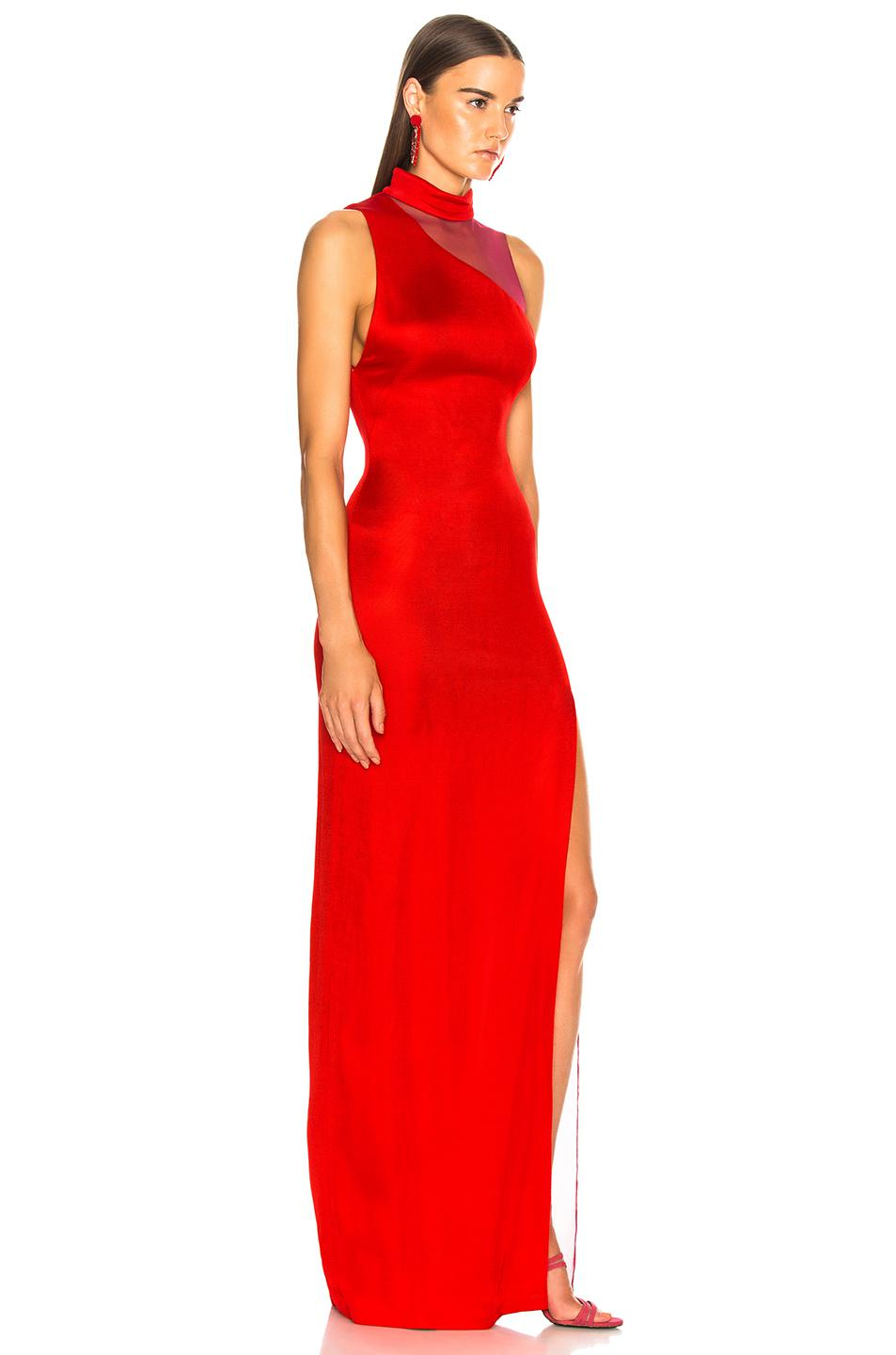 59c85ca4ae9 Galvan London Shadow Dress in Red - Save 55% - Lyst