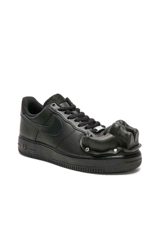 air force 1 noir custom