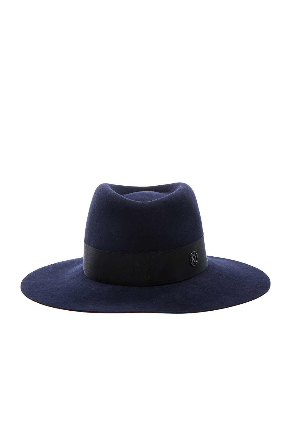 Maison michel charles hat in blue lyst for Maison michel