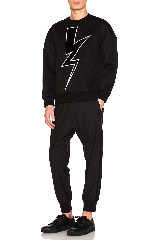 Lyst neil barrett tuxedo fine gabardine trousers in for Neil barrett tuxedo shirt