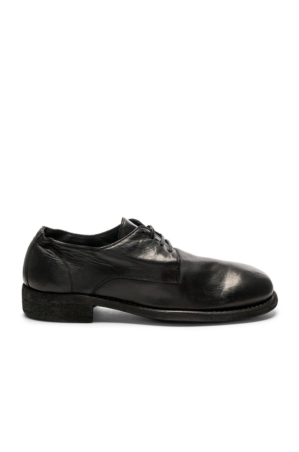 GUIDI Full Grain Leather Donkey Classic Derbies in . CaMPf9x
