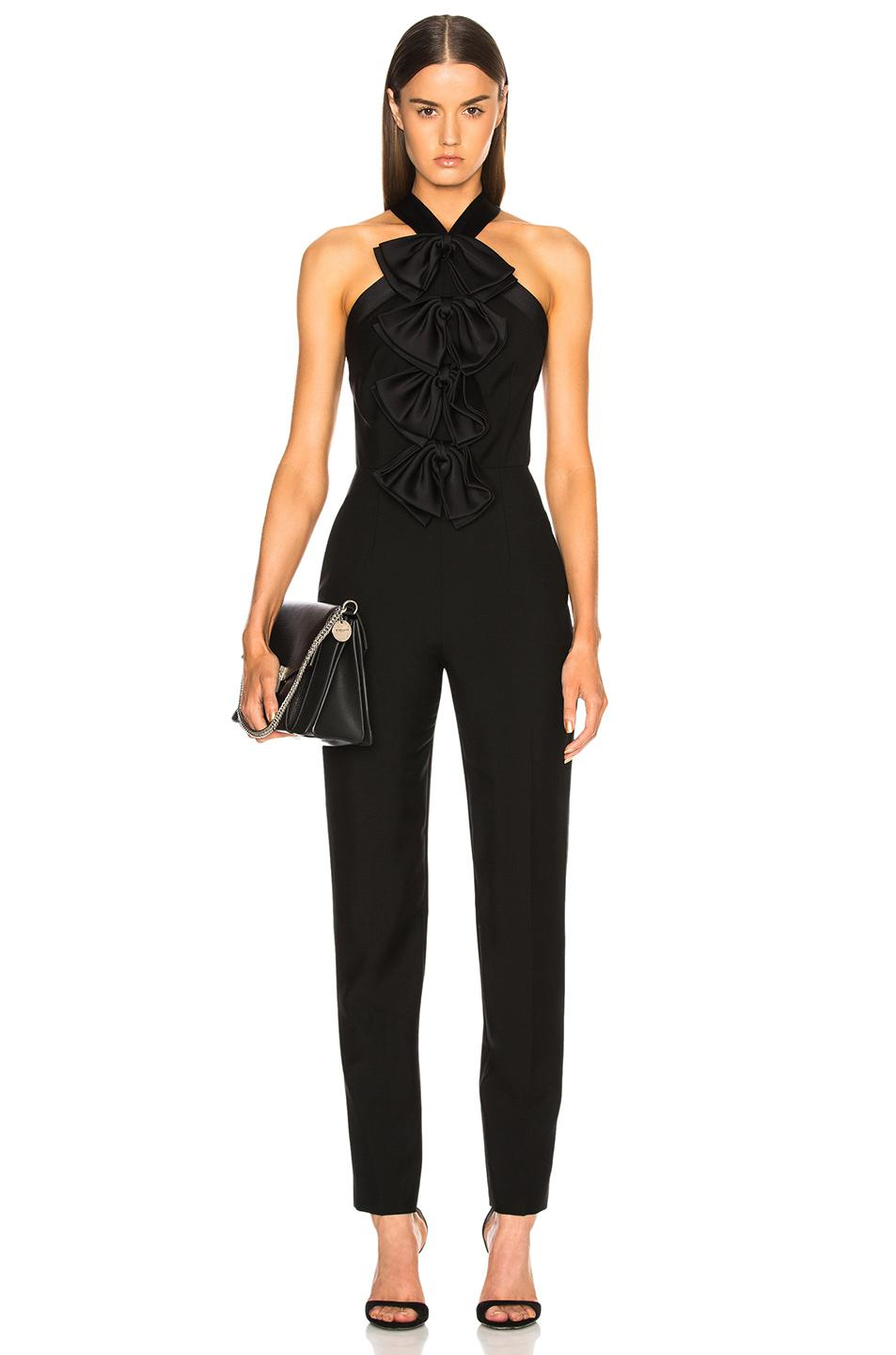 polka-dot tailored jumpsuit - Black Givenchy Buy Cheap Release Dates Enjoy Shopping 8SMTyXN4py