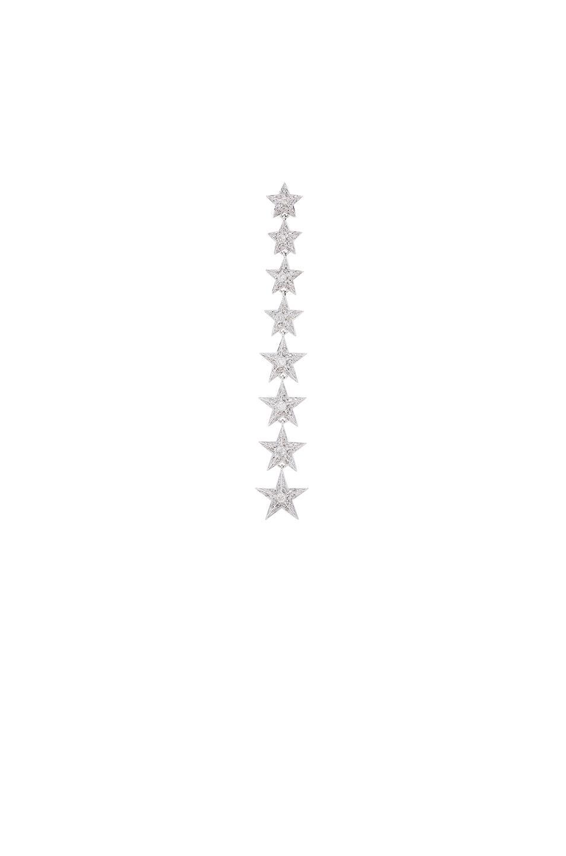 Elise Dray Falling Star Single Earring in Metallics Leu5YU3sls