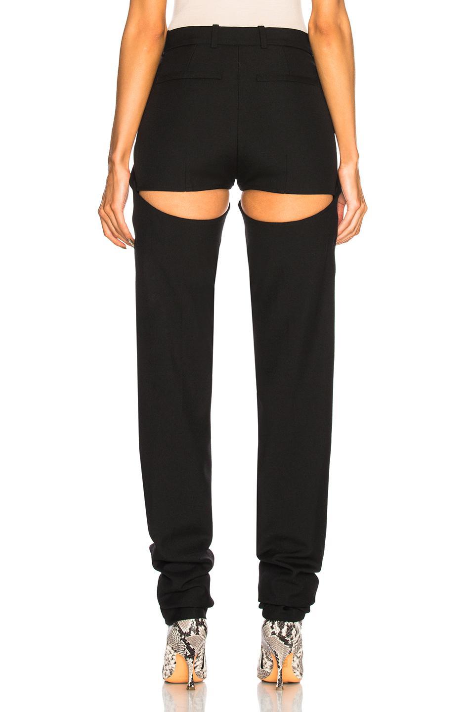 Womens Tech-Satin High-Waist Slim Trousers Y / Project RlvPw