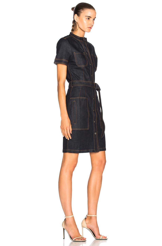 AG Jeans Cotton Aurelie Dress in Black
