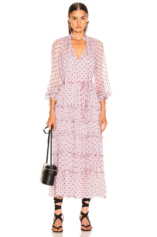 0c89945be621 Zimmermann. Women's Ninety Six Neck Tie Dress