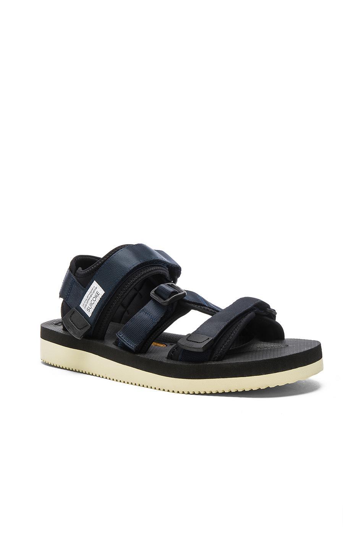 39fabbd33f5f Suicoke - Blue Kisee V Sandals for Men - Lyst. View fullscreen