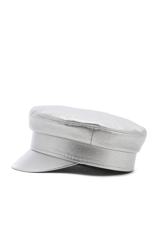 for FWRD Baker Boy Cap in Metallic Silver Ruslan Baginskiy l60hR67p