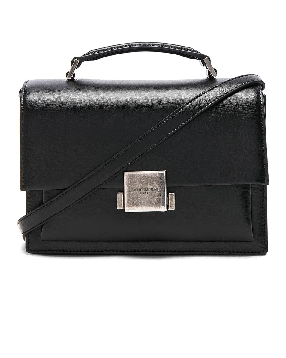 Saint Laurent - Black Medium Bellechasse Schoolbag - Lyst. View fullscreen 8fd5ee1b198cc