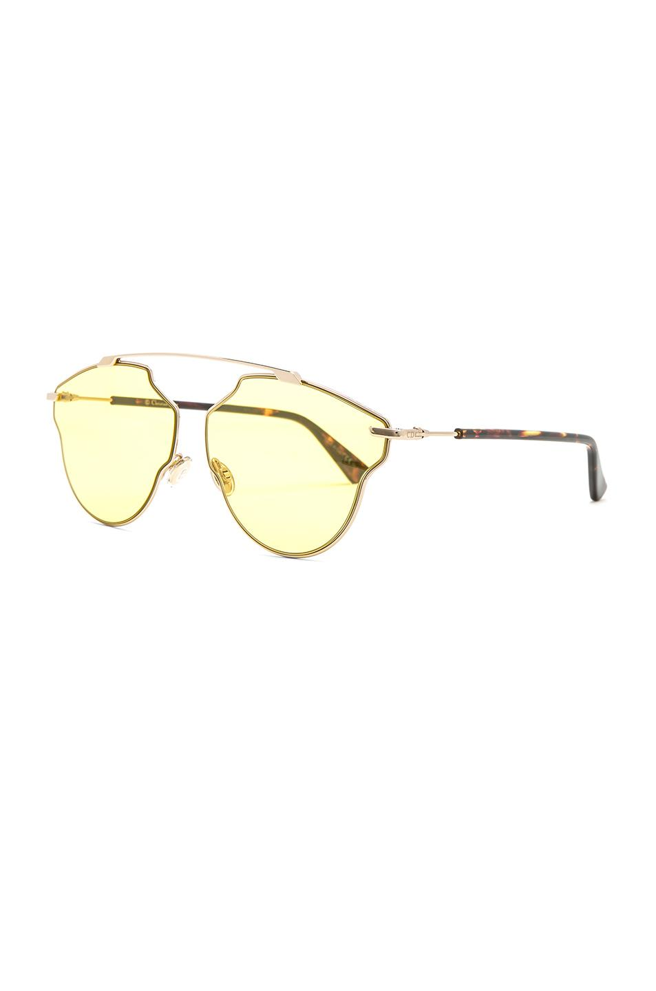 92d8100f1c75 Dior So Real Pops Sunglasses in Metallic - Save 21.315789473684205 ...